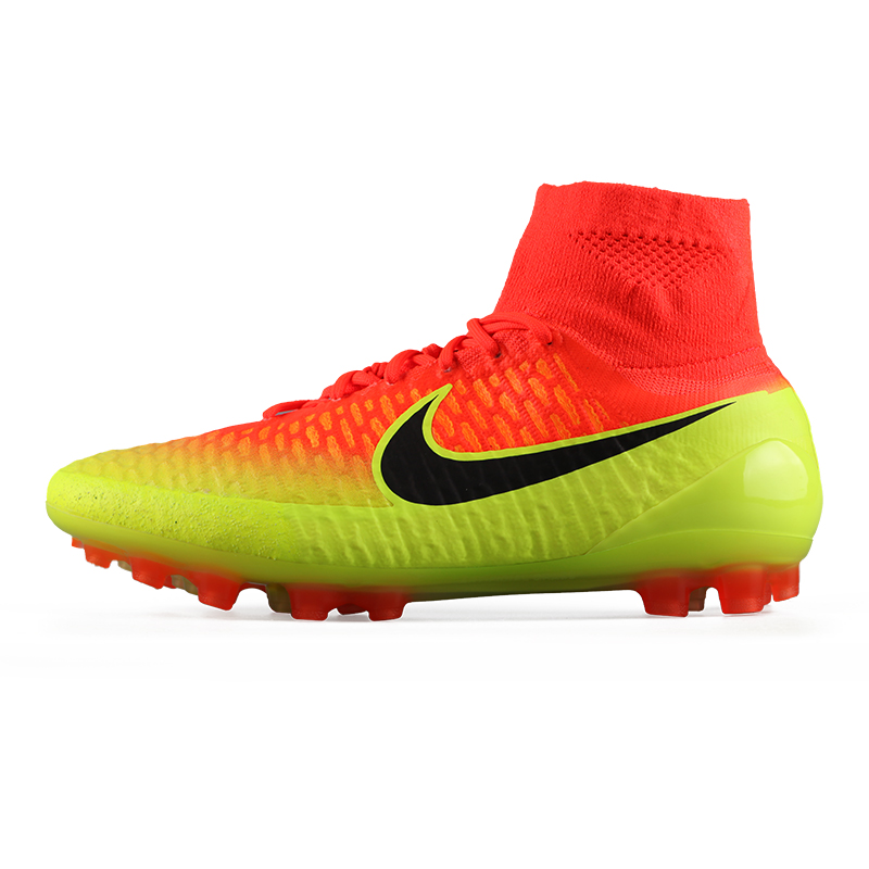 06917769821e Get Quotations · Authentic nike nike magista obra ag ghost cards high top people  grass soccer shoes 717130-