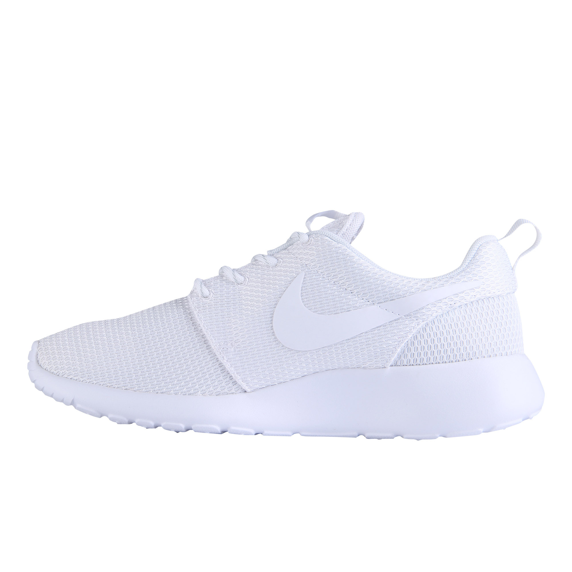 Get Quotations · Authentic nike roshe run black and white silver crochet  rope men and women casual running shoes 6ef26c993d12