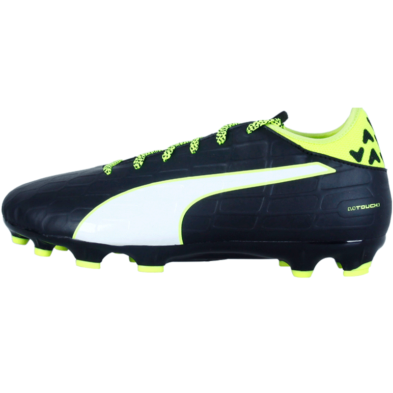 3d29abb41 Get Quotations · Authentic puma/puma evotouch 3 ag nails short nails  artificial turf soccer shoes training game