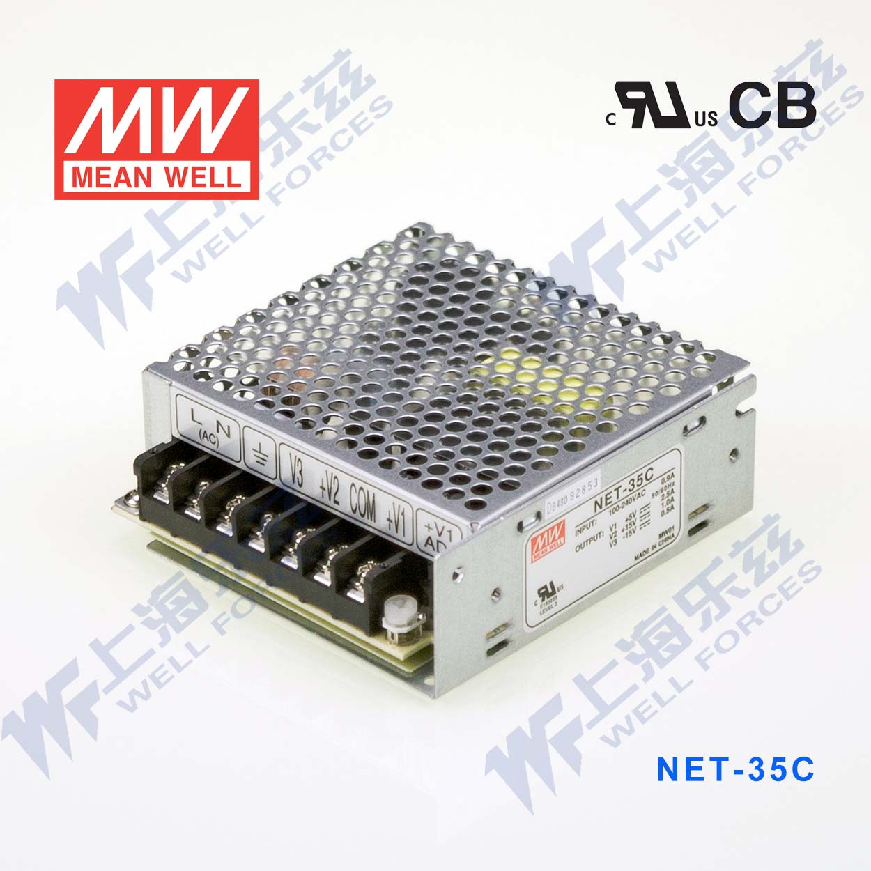 [Authorization] meanwell 35 w NET-35C a5v20-bit plus or minus 15 v [an authorized dealers to tax the sf ]