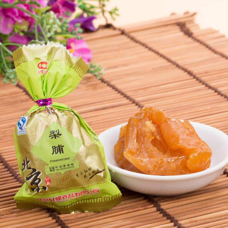 Autumn and promote the old beijing specialty food rhodospirillum g dried dry preserved fruits candied dried fruit candied pear pear