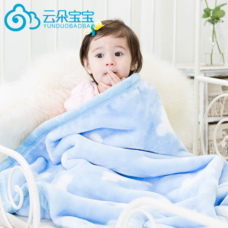 Autumn and winter gift newborn baby blankets double thick winter blanket of cloud cover blankets blanket small blanket blankets baby winter