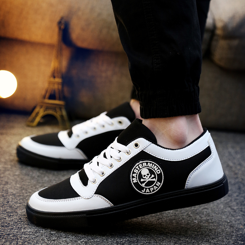 6be8d60caaa3a1 Get Quotations · Autumn and winter men s casual shoes tide shoes canvas  shoes men shoes korean youth fashion casual