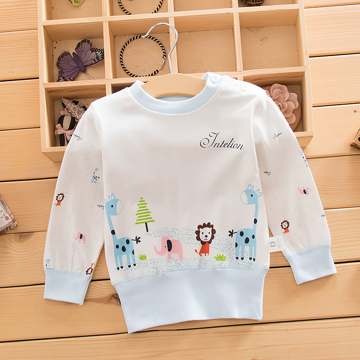 Autumn baby care belly cotton underwear shirt qiuyi spring and autumn baby care baby belly baby care belly underwear bottoming children clothing