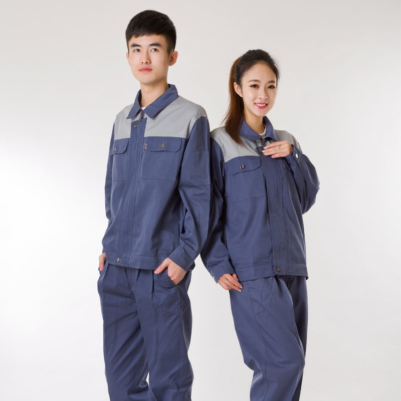Autumn sleeve sleeved overalls suit male clothing factory tooling engineering services protective clothing work clothes work clothes protective clothing custom clothing