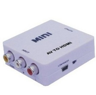 Av to hdmi converter rca to hdmi to hdmi hdmi cvbs composite video yellow red and white