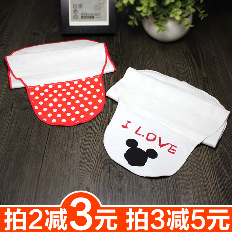 Baby bamboo fiber cotton sweatbands scapegoat scapegoat towel infant baby suction hanjin hanjin separated children in kindergarten 1/2/3/4 years of age