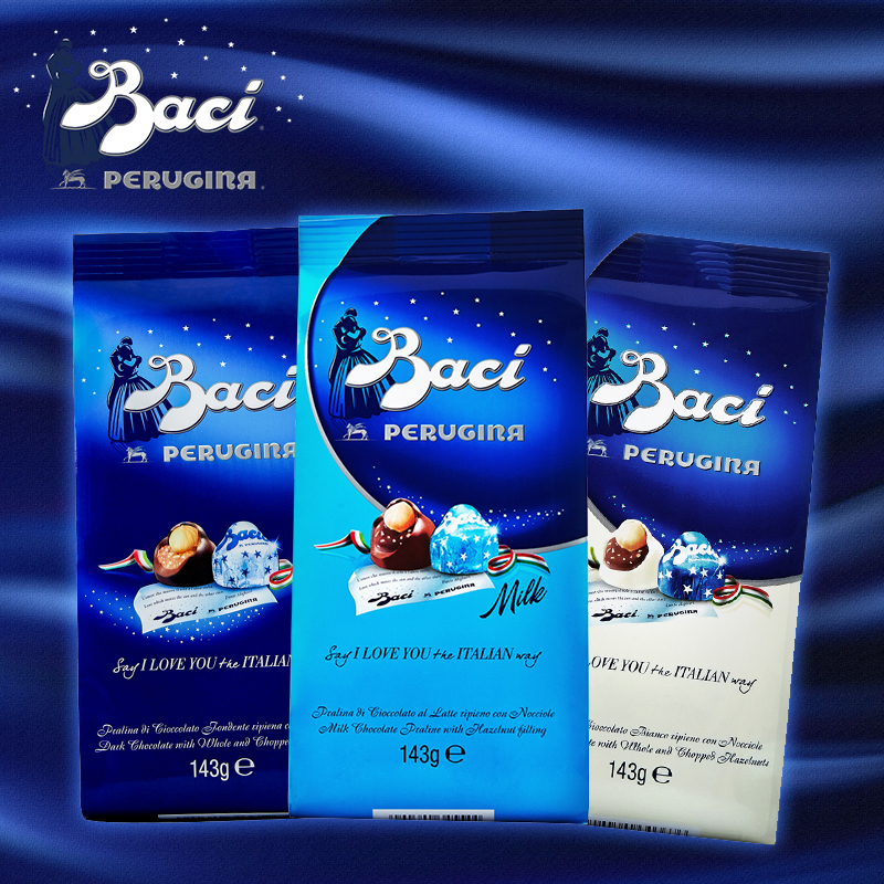 Baci hi imported italian chocolate 143g * 3 combination of 3 kinds of flavors combination of seven evening to send his girlfriend a gift