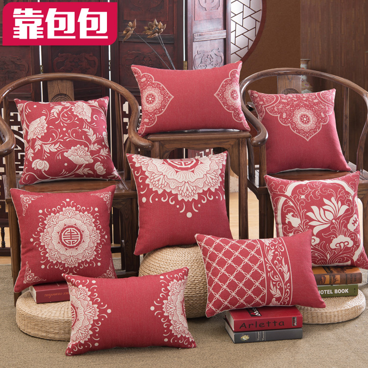China Red Chinese Cushions, China Red Chinese Cushions Shopping ...