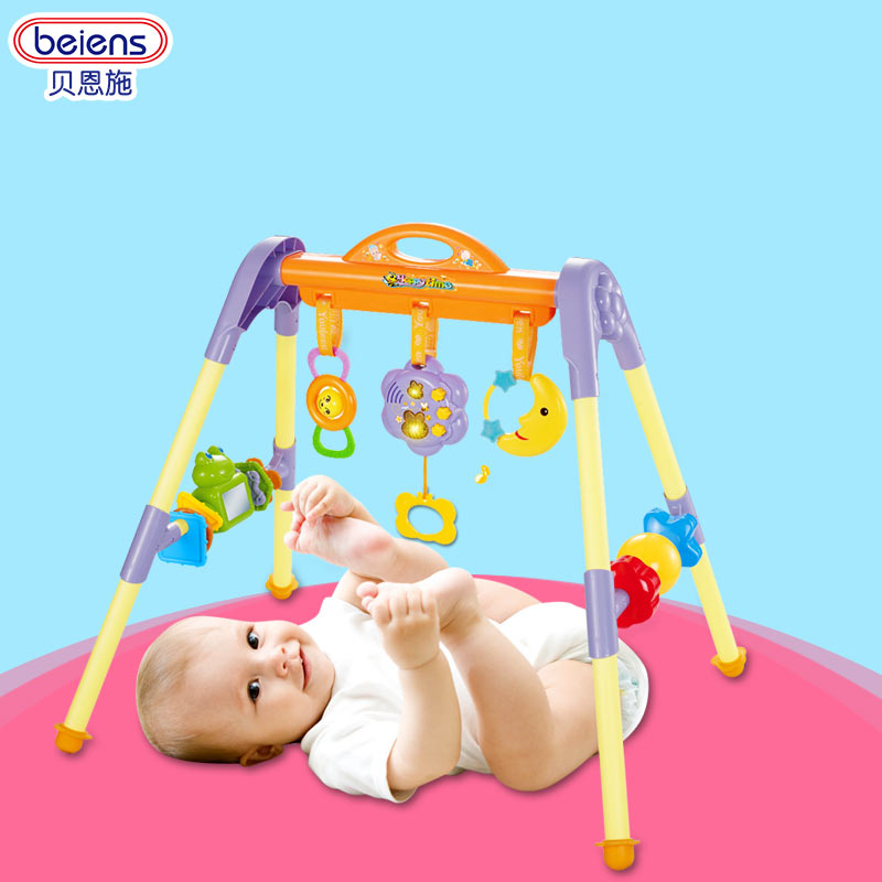 Bain shi multifunctional baby fitness frame 0-1-year-old infants and children baby toys for children early childhood music fitness frame