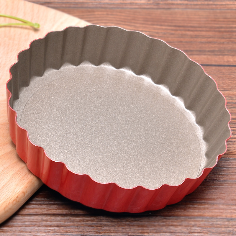 Bakeware sunny round live bottom daisy dish pizza pie dish pizza pan pizza pan 4 inch