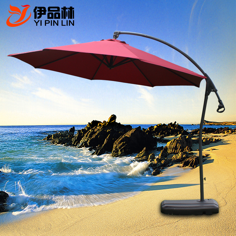 Get Quotations Balcony Patio Umbrella Sun 3 M Outdoor Umbrellas Large Folding Beach Banana