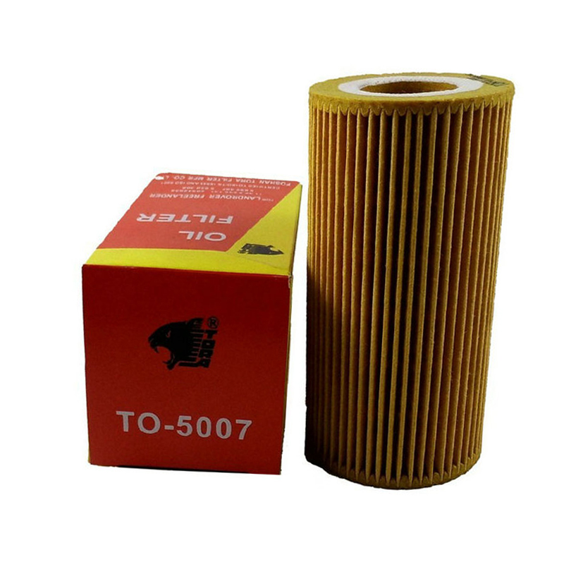 Baowang oil filter land rover freelander TO-5007 oil filter machine filter oil grid