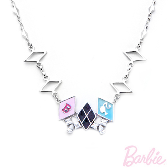 [Barbie barbie necklace] college little rebellious payeasy official website direct mail