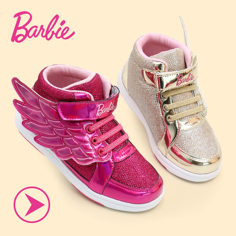 Barbie barbie shoes girls wings shoes sneakers shoes for girls autumn 2016 korean version of gong master shoes sports shoes tide shoes