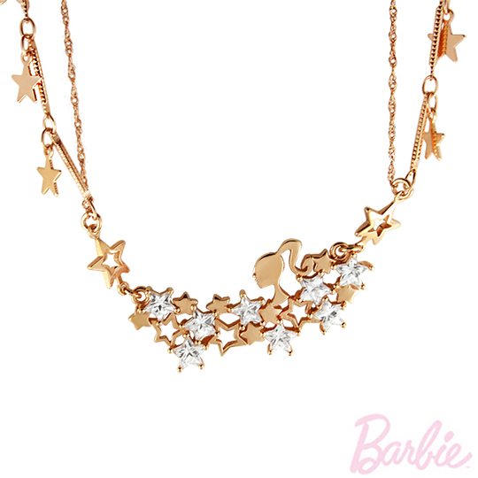 [Barbie barbie winter night] shine galaxy necklace payeasy official website direct mail