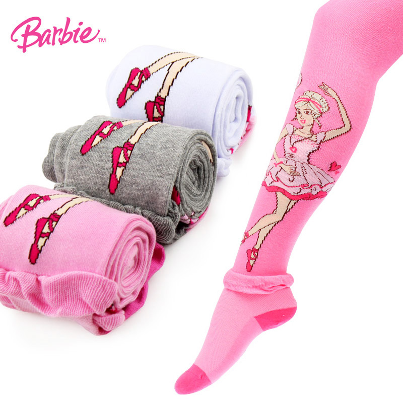 e0bf38372 Buy Barbie childrens new spring girls pantyhose students children ...