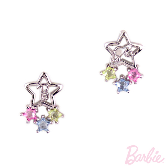 [Barbie] star magic barbie earrings payeasy official website direct mail