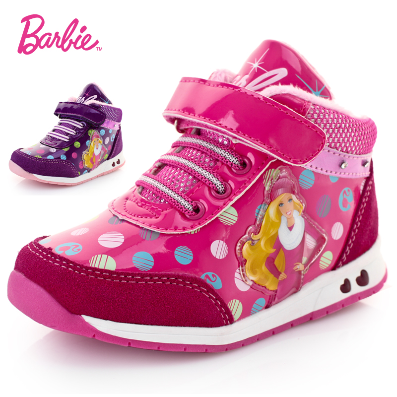 Barbie winter new baby princess shoes children shoes flashing shoes travel shoes casual shoes children's sports shoes women shoes