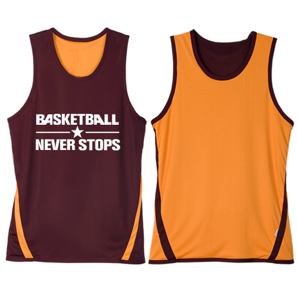 Basketball uniforms sided wear men's basketball training jersey shirt dress shirt printing custom printed numbers