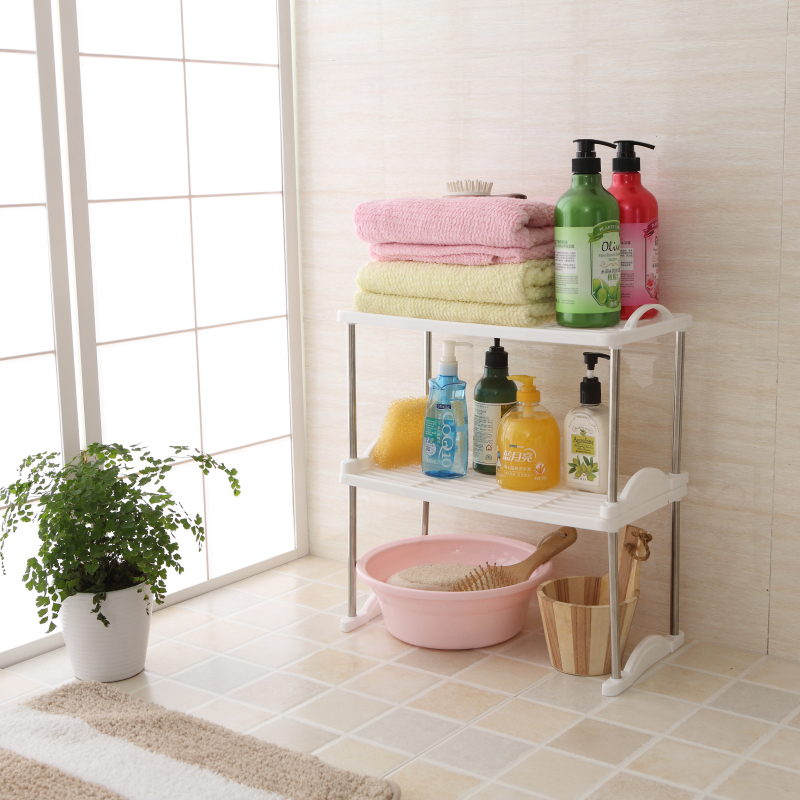 Bathroom shelf bathroom shelf kitchen shelf seasoning rack bottle rack shelving multifunction stainless steel shipping racks