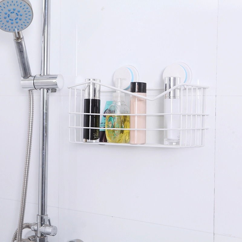 Bathroom shelving sucker wall suction wall shelf bathroom toilet bathroom shower the bathroom kitchen shelf 2