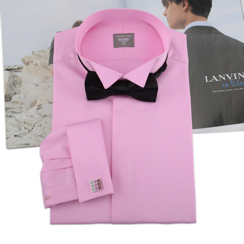 Bayer baaler wing collar shirt dress shirt cotton shirt and groom wedding banquet party y008