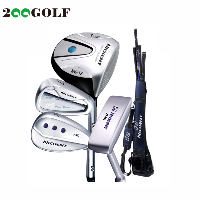 Beginner golf clubs nickent ni kente ladies golf sets bar for men and a half sets of special