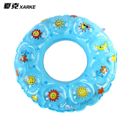 Beginners begotiation membership double thick inflatable swim ring crystal swimming laps swimming laps swimming equipment universal adult children