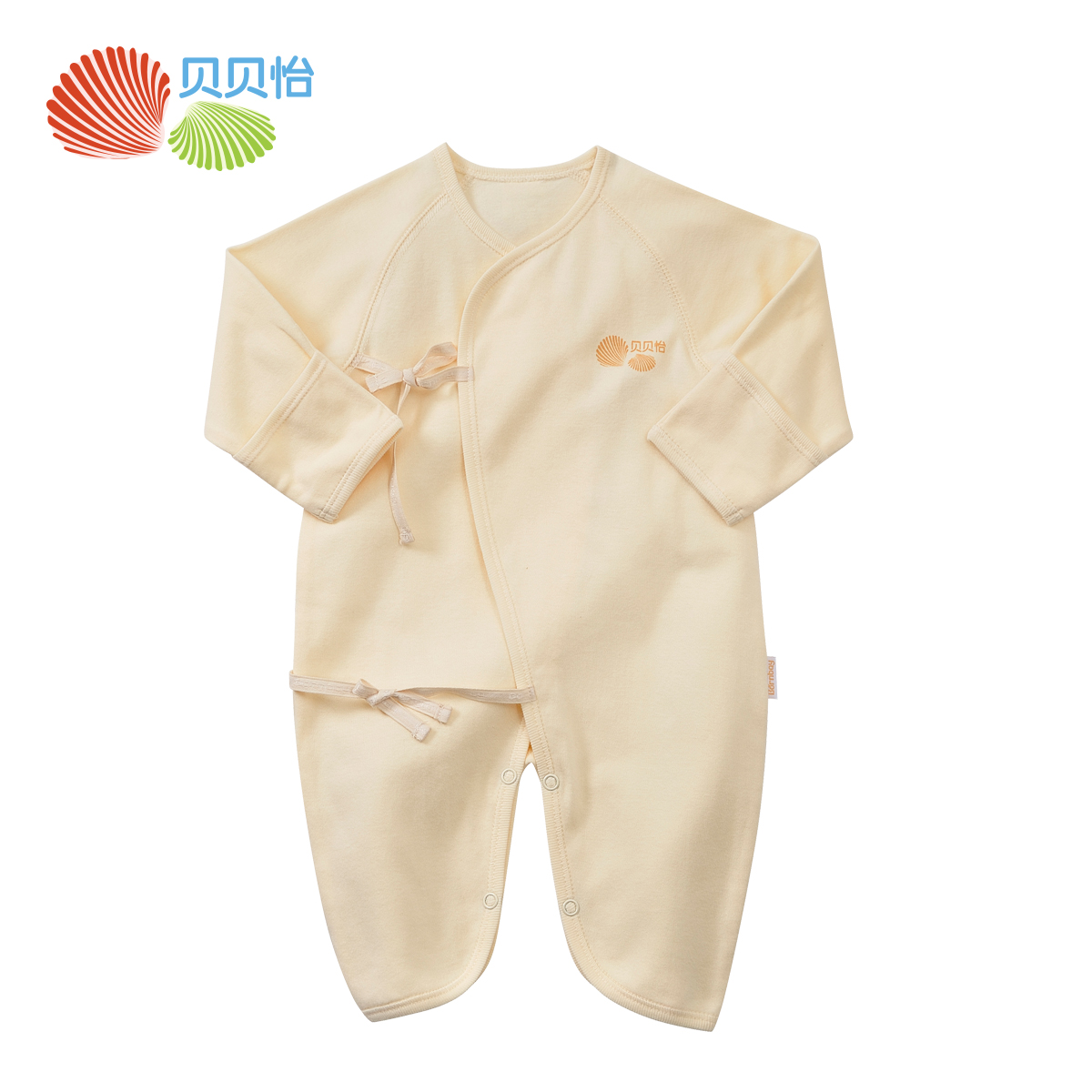 Beibei yi baby clothes long sleeve thin section of the spring and autumn cotton romper newborn baby climb clothes for men and women BB1015