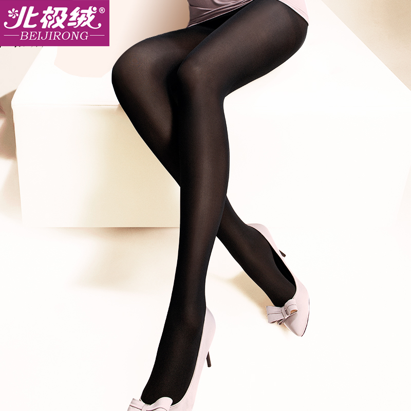 caf01086b0a4 Get Quotations · Beiji rong genuine pressure stovepipe legs stockings thin  socks spring and autumn and winter seasons thick