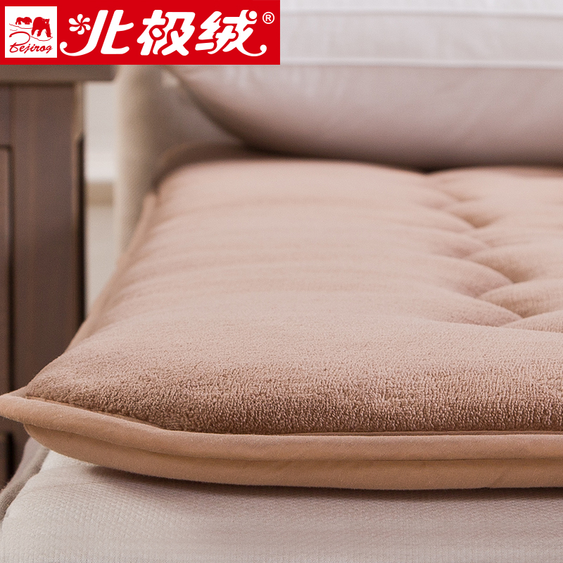 Beiji rong thick coral velvet tatami mattress bed mattress pad is student dormitory 1.8 m 1.5 free shipping