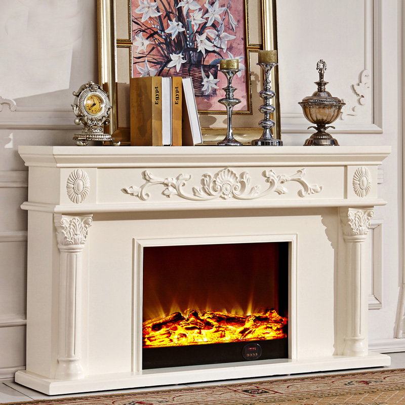 Beijing good custom 1.2/1.5 miou fireplace mantel decoration cabinet tv cabinet tv cabinet wood fireplace mantel fireplace heater core 8063