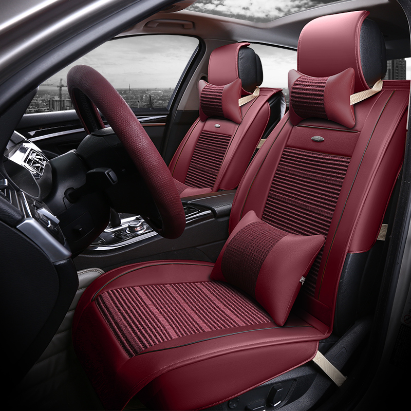 Beijing hyundai sonata name yu 9 name figure whole package seat cushion wholly surrounded by four seasons ice silk car seat cover