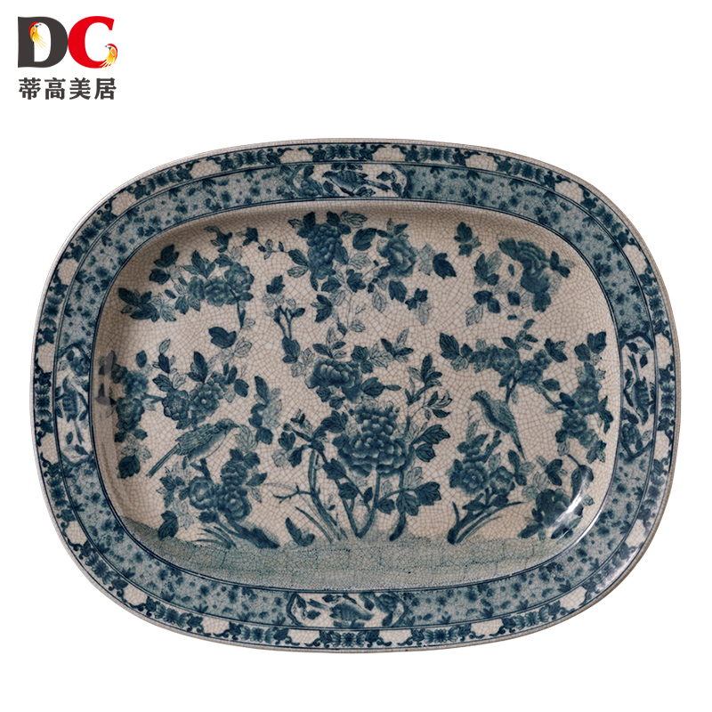 Get Quotations · Bendigo mercure european blue and white ceramic crack classical home living room decorative wall hanging plate  sc 1 st  Shopping Guide - Alibaba & China Ceramic Wall Hanging China Ceramic Wall Hanging Shopping ...