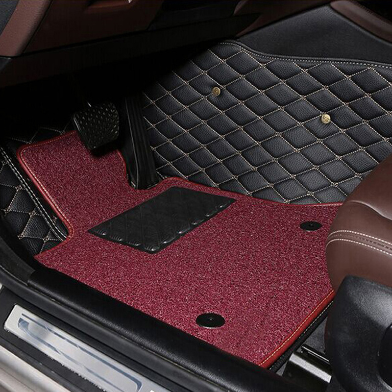 Benz b200 A160A180A200B180GLE320GLE400 dedicated wholly surrounded by wire loop car mats