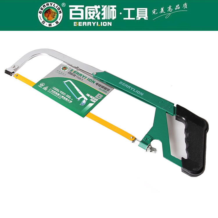Berry lion/budweiser lion boutique activity hand hacksaw frame hacksaw handsaw bow saw frame saw blade with