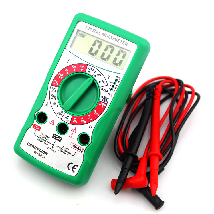 Berry lion/budweiser lion digital multimeter lcd multimeter electronic tools