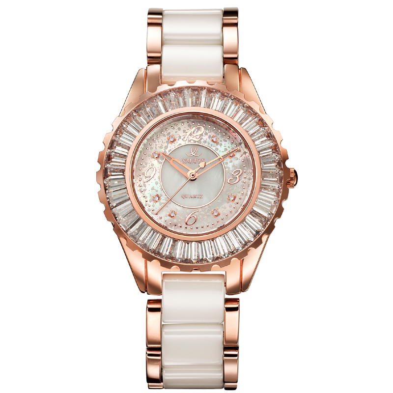 Best charm smaysé¢real diamond watches 8 korean fashion ceramic ladies watch ladies watches quartz watch fashion female form