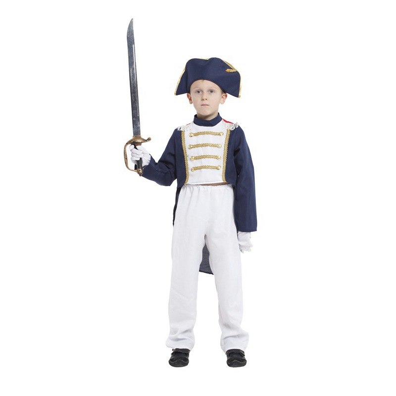 Beth bear halloween children napoleon costume costumes stage costumes cosplay clothes suit and long sections