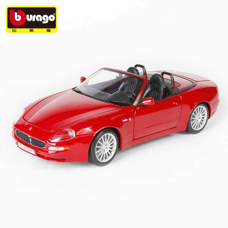 Bimei high maserati 20121:18 convertible car model alloy factory simulation model cars maserati sports car