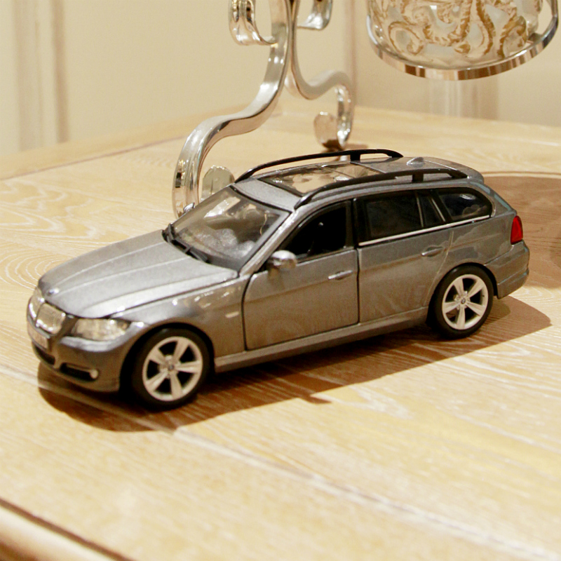 Bimei high simulation 1:242014 bmw cars factory alloy car model toy ornaments bmw alloy car models