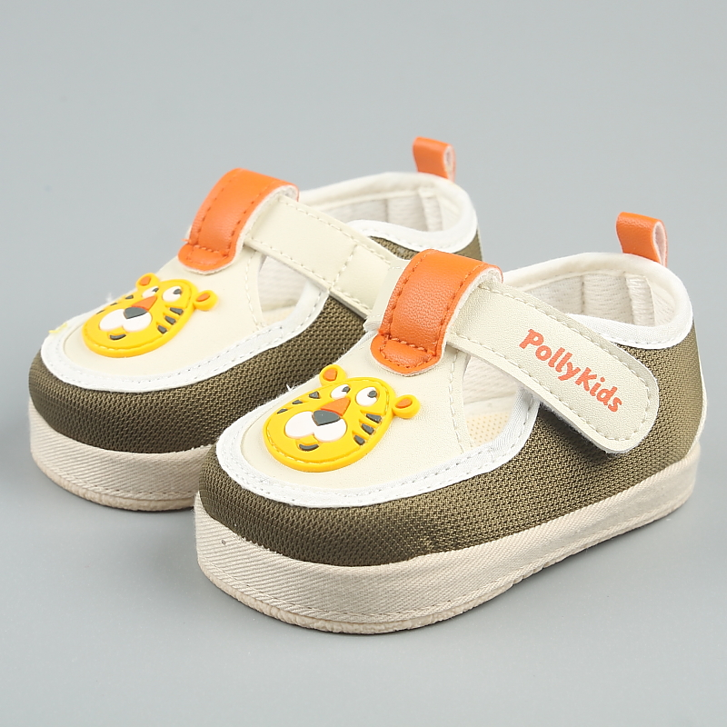 Bishi ni 2016 spring new baby canvas shoes baby shoes soft bottom toddler shoes home shoes before step 0929