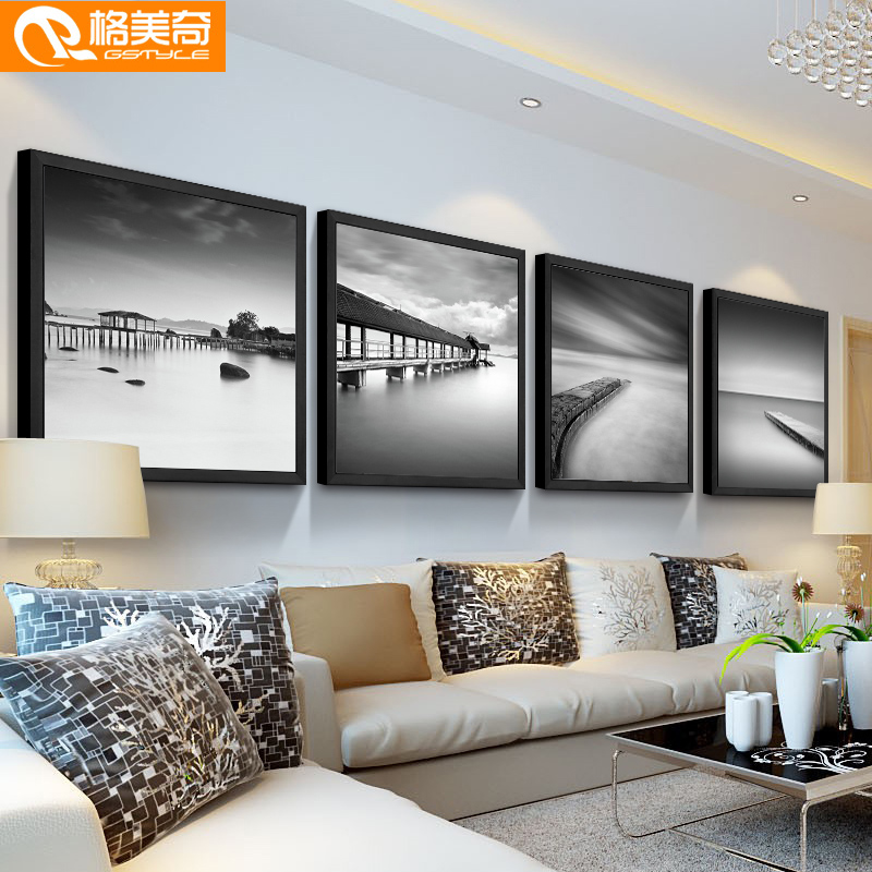 China Framed Black White Wall Art China Framed Black White Wall Art