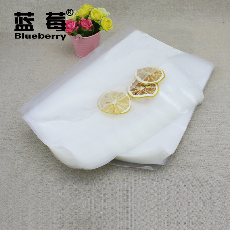 Blueberry brand 30 * 50cm new food grade transparent nylon vacuum bags vacuum bags of food storage bags