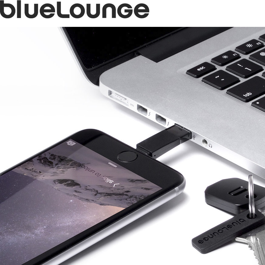 Bluelounge kii lightning iphone data cable data lines are short portable connector apple authorized