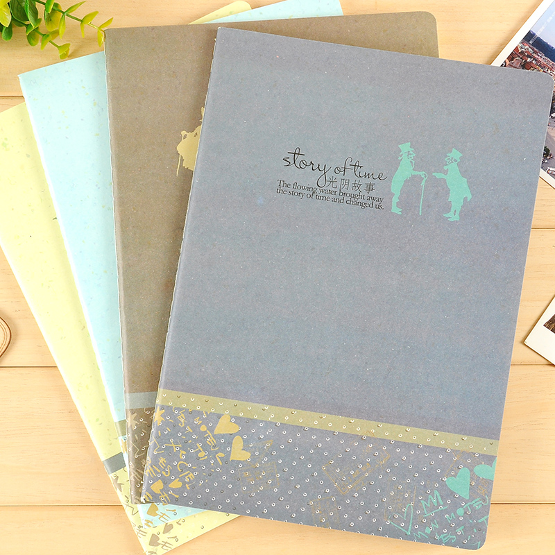Bmdm roppongi/story time diary notebook notebook notebook b5 soft copy creative korea stationery