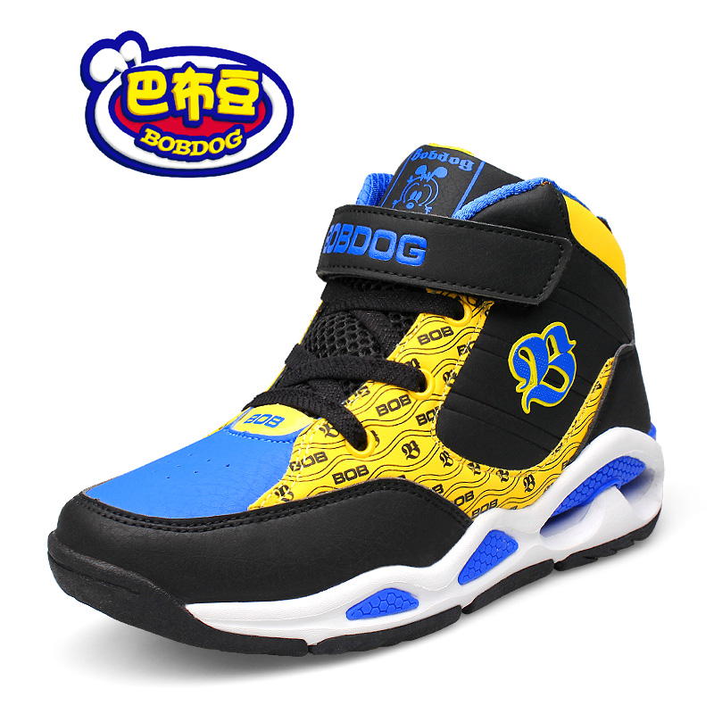 Bob dog shoes 2016 autumn new men's shoes basketball shoes fashion student sports shoes high to help young people
