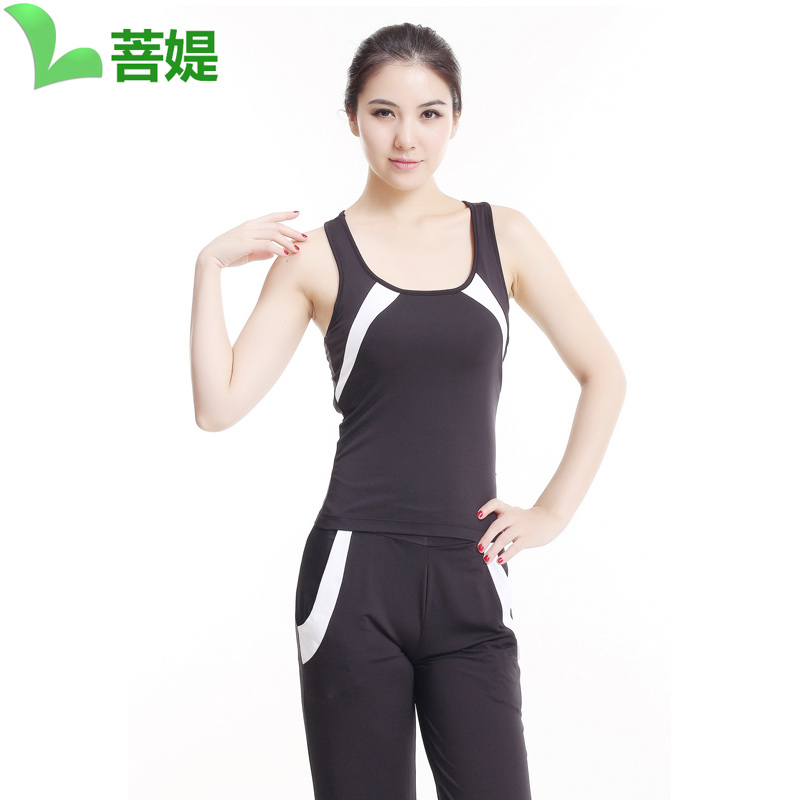 Bodhisattva ti spring and summer yoga clothes workout clothes suit korean female yoga clothes yoga clothing aerobics jogging sportswear