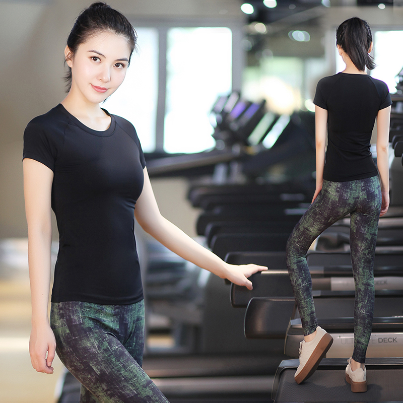 Bodhisattva ti yoga clothes yoga clothes suit female 2016 summer wicking aerobics gym clothes jogging pants sports pants yoga clothing was Thin